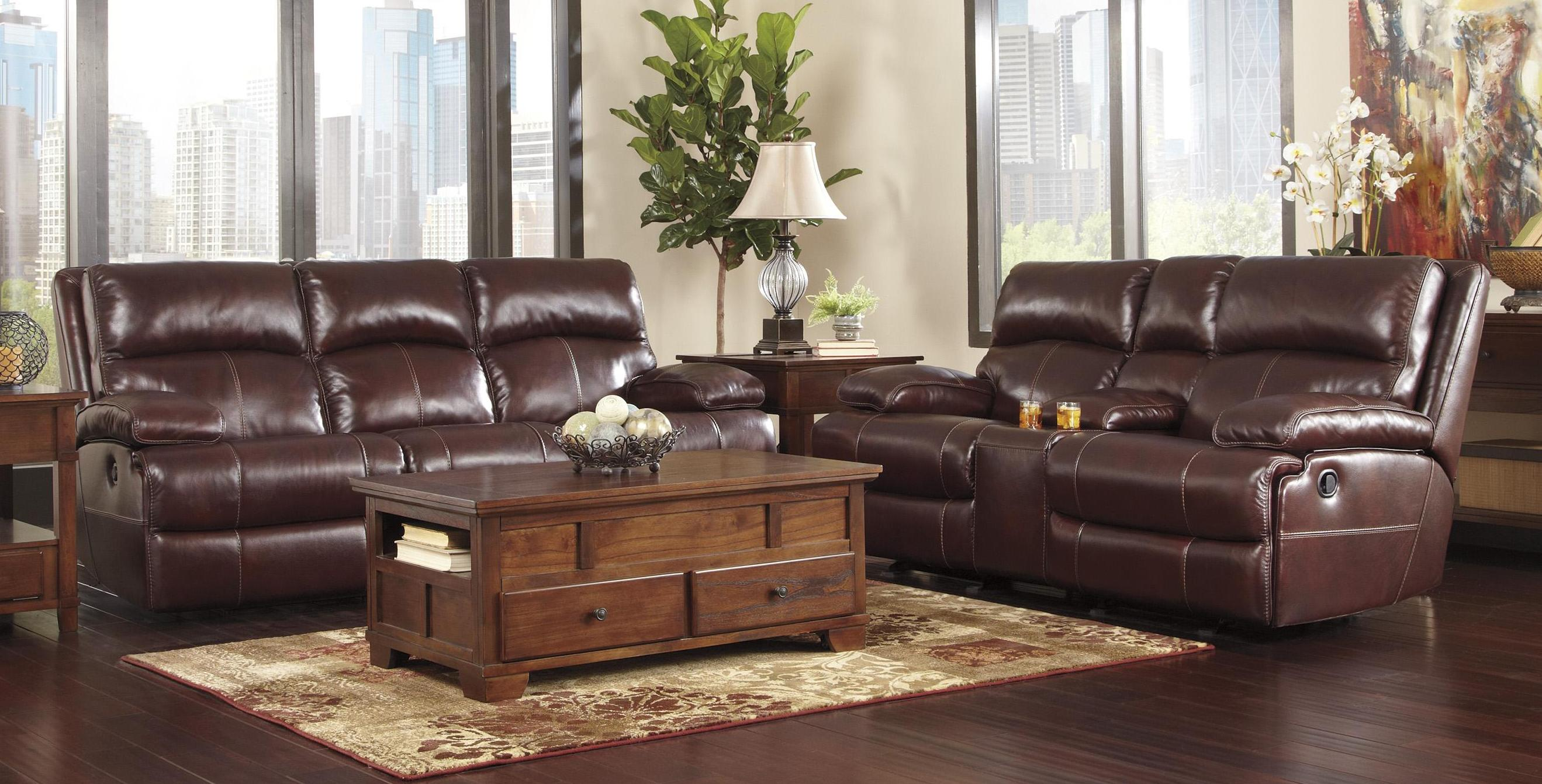 Reverse Auction – Ashley Furniture Lensar Burgundy (3+2+1 ...
