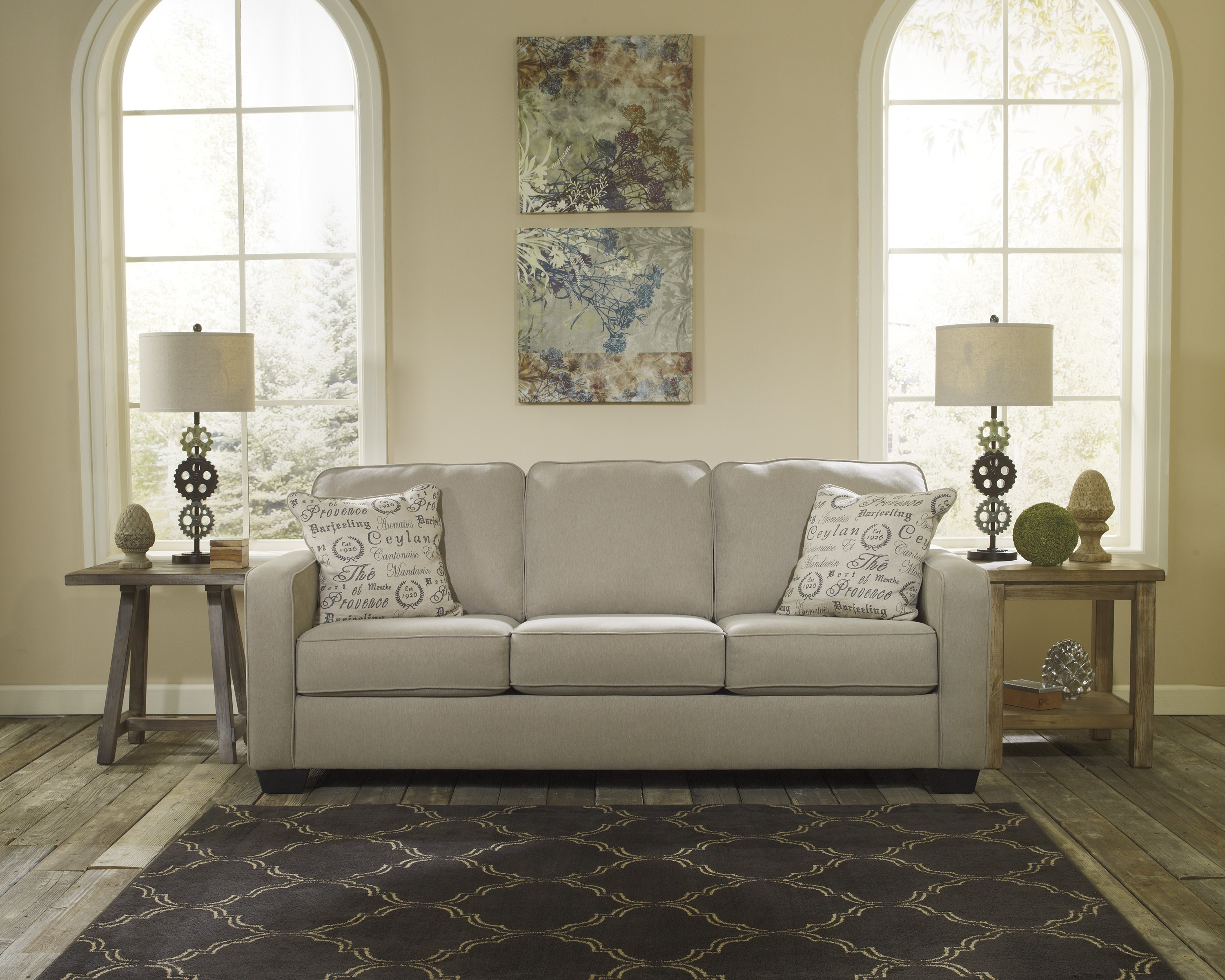 Reverse Auction Ashley Furniture Alenya Quartz Sofa Love