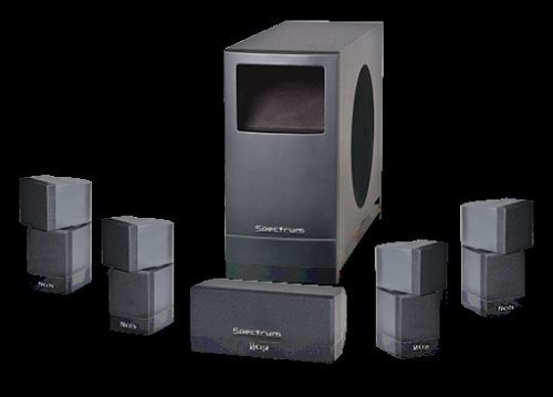 Reverse Auction - New Spectrum RS-232 High Definition Home Theater ...