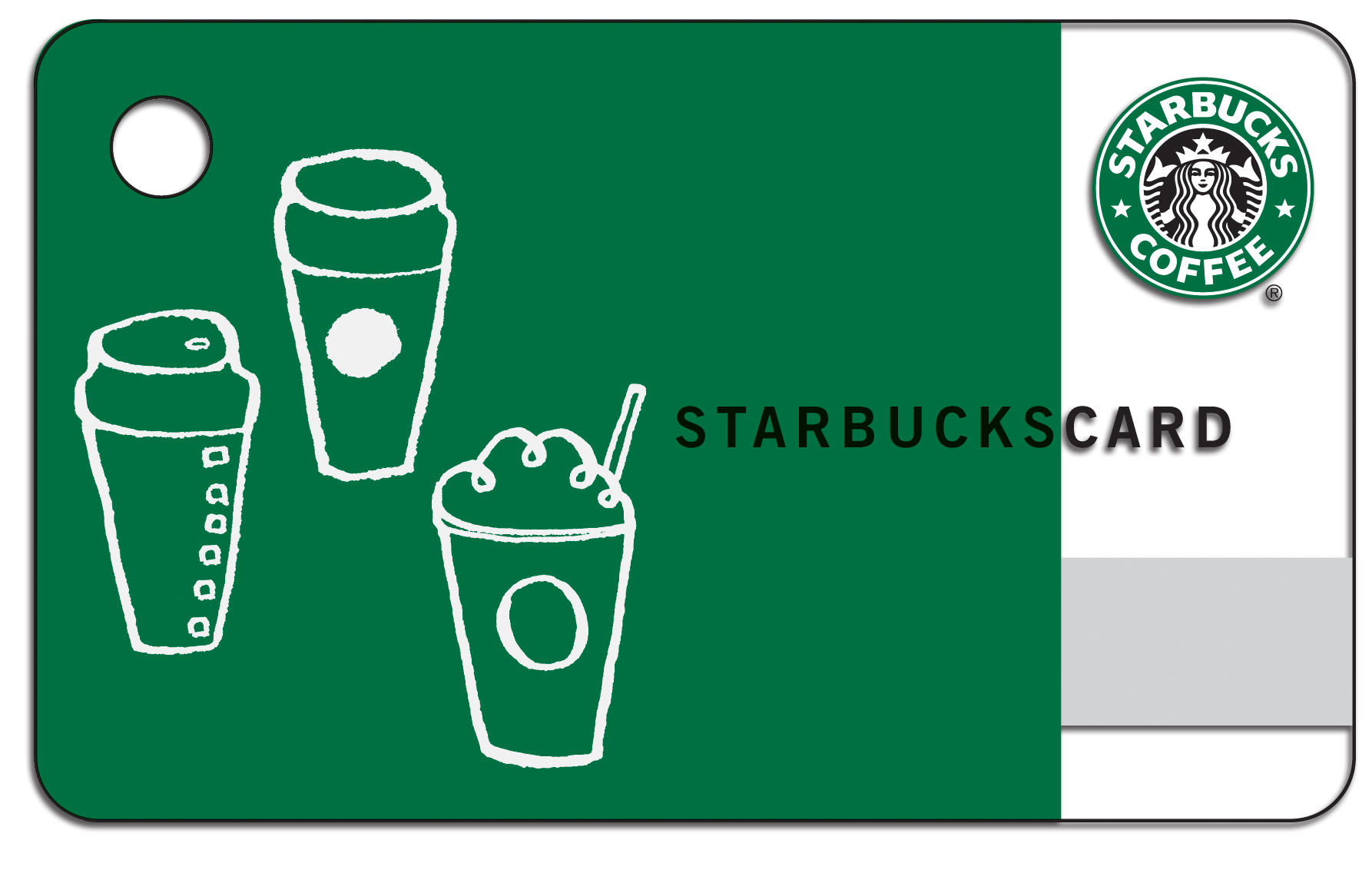 25 starbucks card for Starbucks business cards
